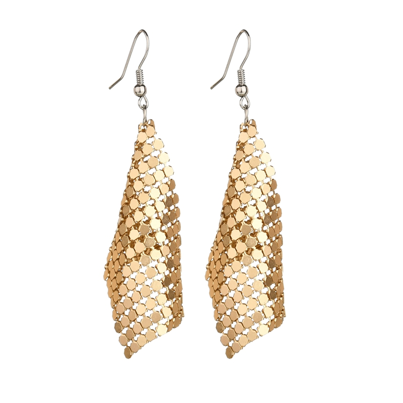Misscycy Drop-Earrings Jewelry Statement Vintage Women Long for Ethnic Gifts Sequins