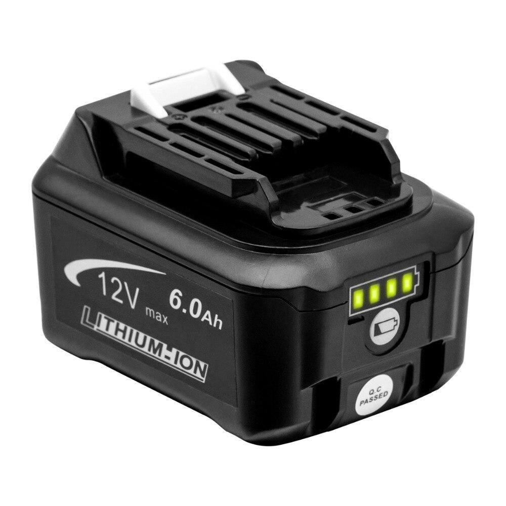 Batteries rechargeables au lithium GTF 10.8 V 6000 mAh pour Makita CXT BL1040 BL1020B BL1020B DF031D TD110D perceuses sans fil batterie