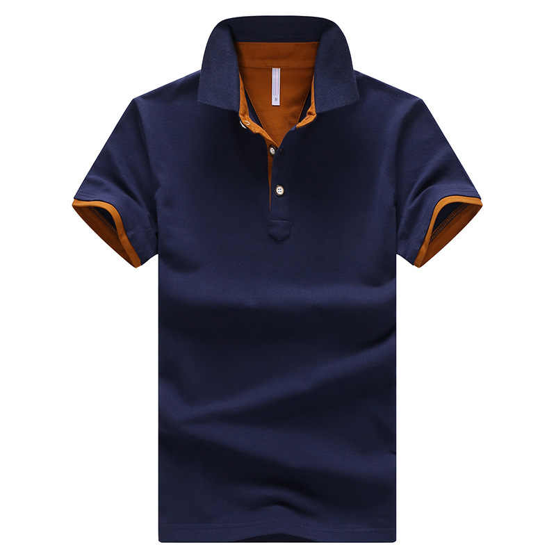 Polo Hombre Summer Short Sleeve Casual Polos Men Solid Business Formal Poloshirt Mens Cotton Streetwear Shirt Stretchable Cloth