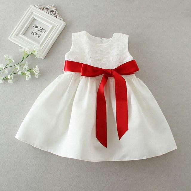 Neugeborenes mädchen geburtstag outfit kleinkind brautkleider bogen ...