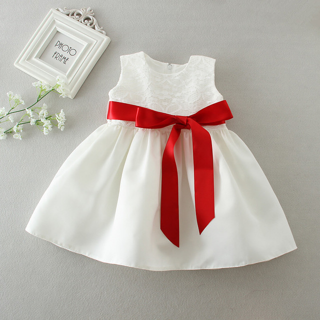 Newborn Baby Girl Birthday Outfit Infant Wedding Gowns Bow Designs ...