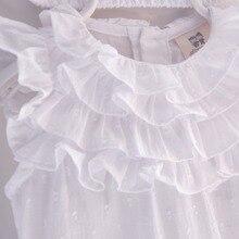 Baby Girl Lace cotton Romper + Headband