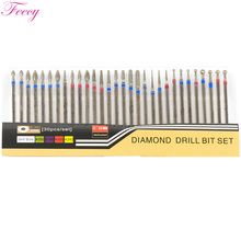 Diamond Drills Milling Cutter for Nail Pedicure Manicure Removing Gel Varnish Rotate Nail Drill Bits Cuticle Cutter Nail Files