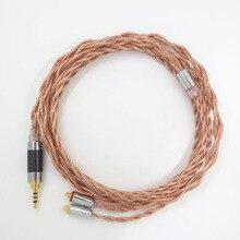 ZSFS 7N OCC Único cristal de cobre equilibrar Cabo do Fone de ouvido 2.5mm para jvc HA-fx850 fx1100 FW01 FW02 SE215 SE535 SE846 W80 fone de ouvido