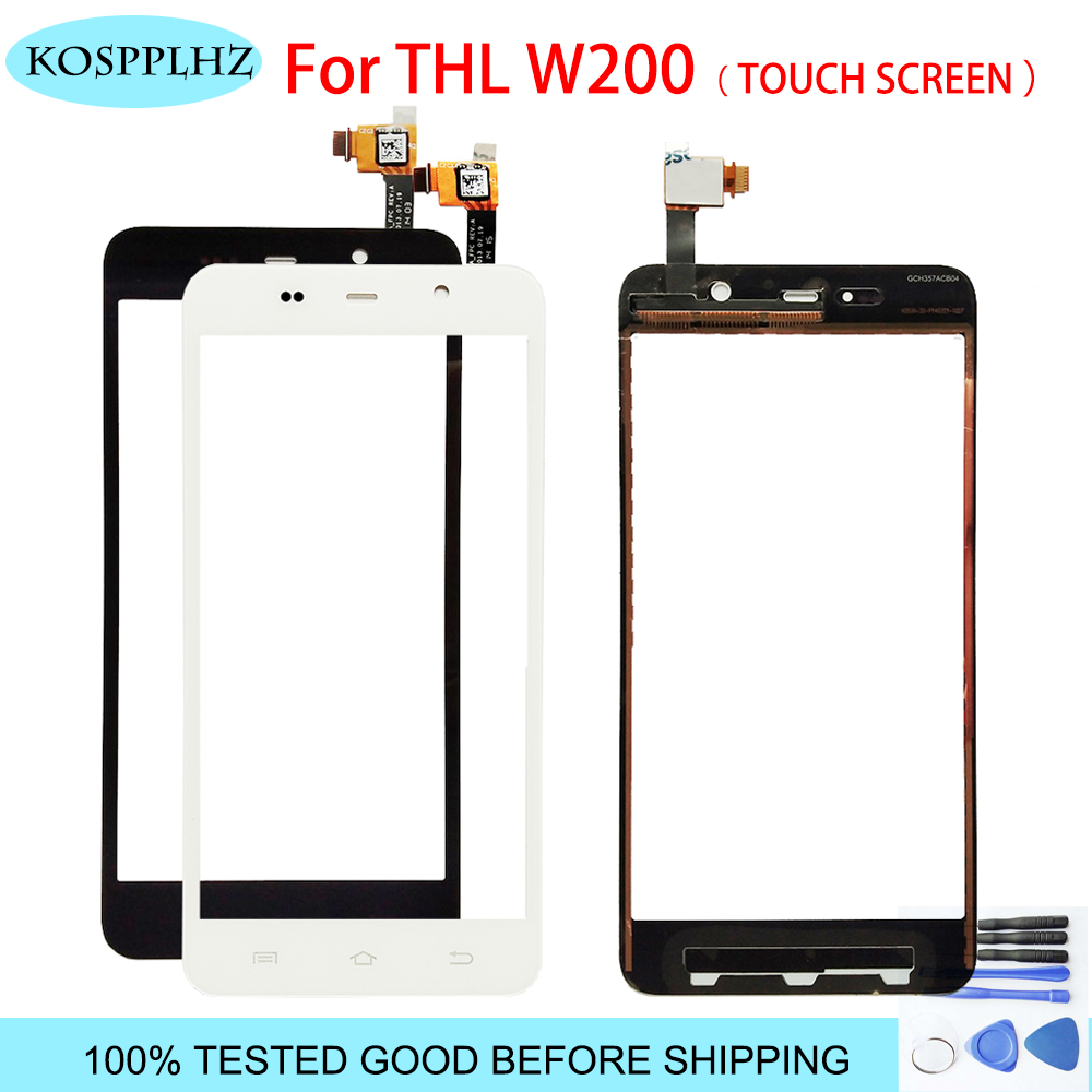 High quality working glass sensor panel digitizer touch screen For THL W200 W200S W200C phone repair parts assembly + toolsHigh quality working glass sensor panel digitizer touch screen For THL W200 W200S W200C phone repair parts assembly + tools