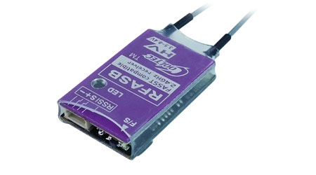 Cooltech mottagare RFASB Fasst sbus kompatibel FPV drone mikro för Futaba T8G T14SG T18MZ