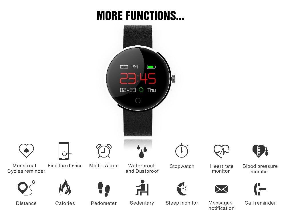 KUDDLE DM78 shenzhen Smart Watch Watch oklopa srčanog ritma od krvi - Pametna elektronika - Foto 2