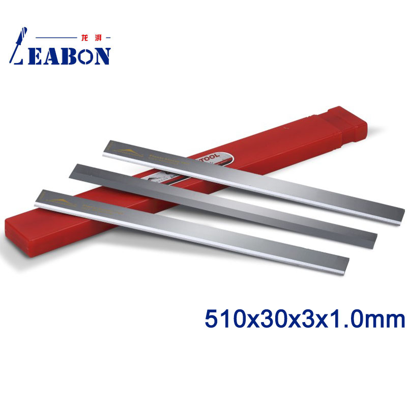 LEABON 510x30x3x1 0mm Woodworking Machinery TCT Planer Blade A02002044