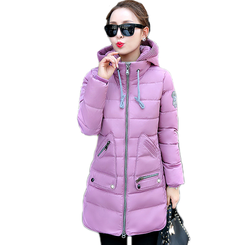 Big Size 5XL Winter Jacket Women Winter Coat Hooded Parka Jaqueta Feminina Chaquetas Mujer Casacos De Inverno Feminino Top Coat plus size thick winter long jacket women coat fur hooded parka jaqueta feminina chaquetas mujer casacos de inverno feminino 1846