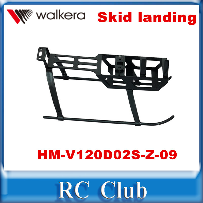 Walkera NEW V120D02S MINI 6CH RC Helicopter Spare Parts HM V120D02S Z 09 Skid Landing Free