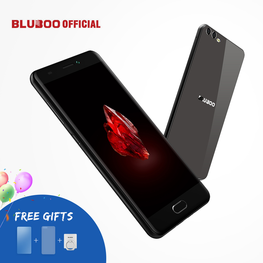 BLUBOO D2 5.2 inch 3G Smartphone Android 6.0 1G RAM 8G ROM MTK6580A Quad Core Cellphone Dual Back Camera 3300mAh Mobile Phone