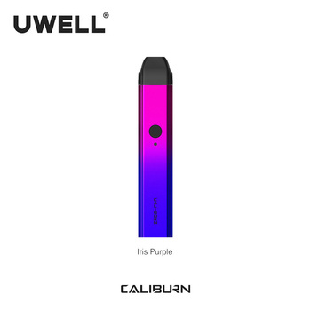 In Stock!!! UWELL 2019 New Arrival Caliburn Portable System Kit 2ml Pod Cartridge 11W 520mAh  Electronic Cigarette Kit  Vape Pod 1