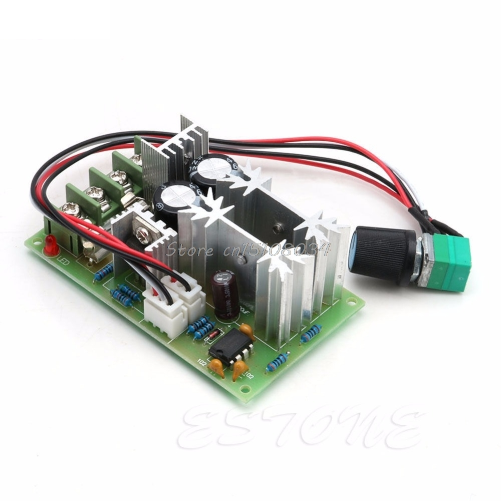 Temperature Instruments Liberal 20a Universal Dc10-60v Pwm Hho Rc Motor Speed Regulator Controller Switch New S08 Drop Ship Latest Technology Tools