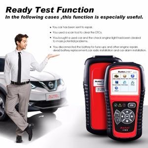 Image 3 - Autel AutoLink AL519 automatyczne narzędzie diagnostyczne skaner kod błędu samochodu czytnik OBD2 CAN Code czytnik Upgrade wersja MS509