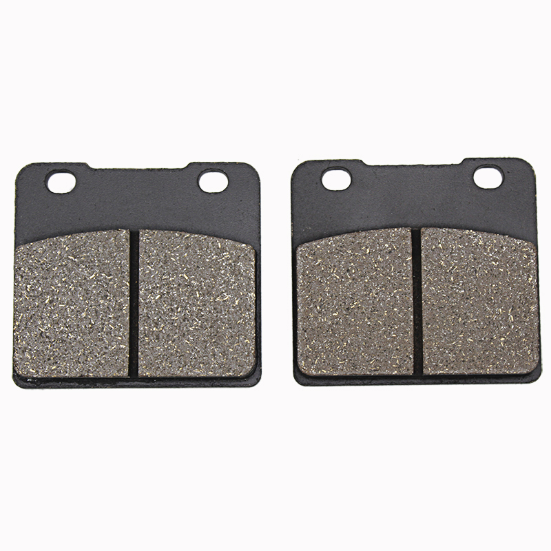 Cyleto Motorcycle Front and Rear Brake Pads for SUZUKI VS 1400 VS1400 Intruder 1987-2003 <font><b>VL1500</b></font> VL 1500 1998-2001 image