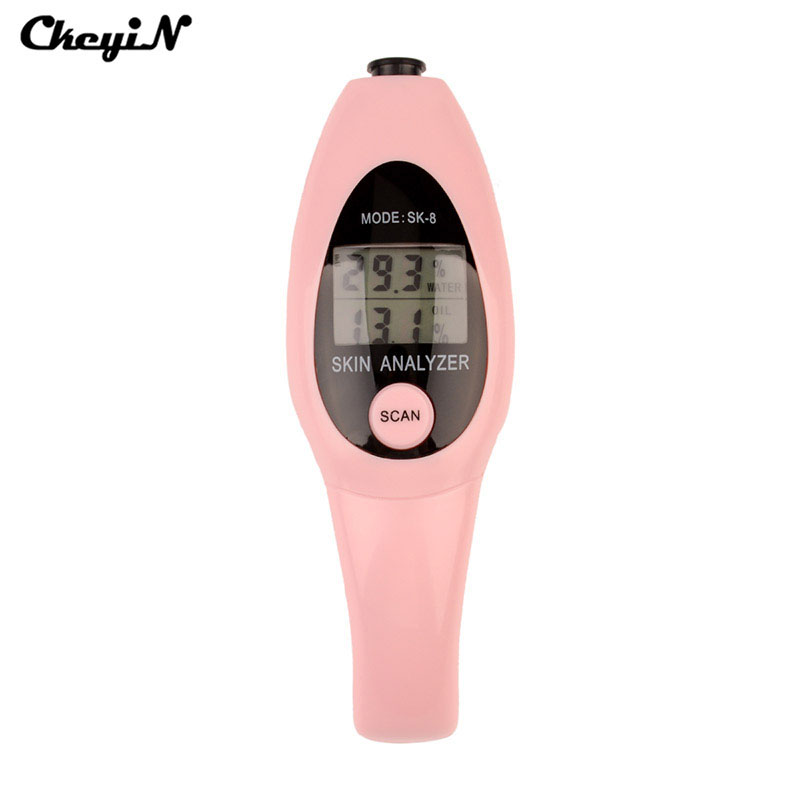 Precision Skin Analyzer Digital LCD Display Facial Body Skin Moisture Oil Content Tester Meter Analysis Face Care Health MonitorPrecision Skin Analyzer Digital LCD Display Facial Body Skin Moisture Oil Content Tester Meter Analysis Face Care Health Monitor