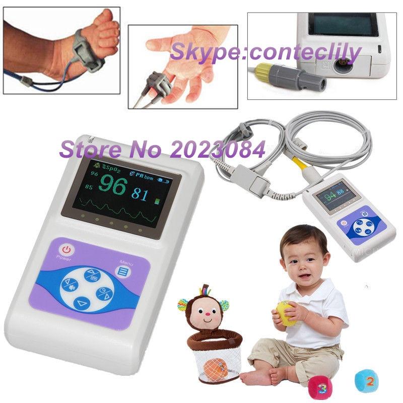 Neonatal Infant pediatric Kids Born Pulse Oximeter Spo2 Monitor PC software CMS60D CONTECNeonatal Infant pediatric Kids Born Pulse Oximeter Spo2 Monitor PC software CMS60D CONTEC