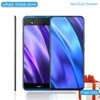 vivo NEX 2 Dual Screen SnapDragon 845AIE 10GB 128GB 6.39 5.49 for Amoled Screen Triple Camera Octa Core Smart Cell Phone 4g