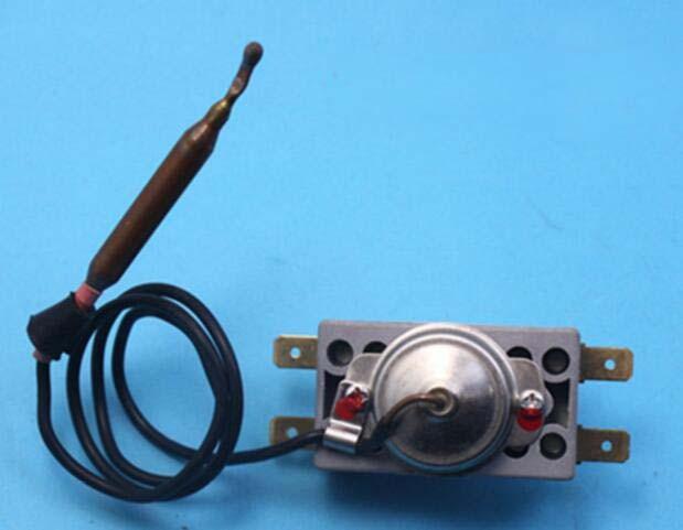 Water heater parts thermostat 970-110C degree temperature switch 2pcs ksd9700 250v 5a bimetal disc temperature switch n c thermostat thermal protector 40 135 degree centigrade