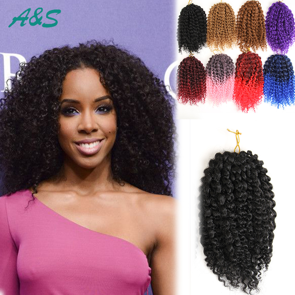 Crochet Hair Aliexpress : Black-crochet-braids-hair-extension-curly-crochet-hair-kinky-curly ...