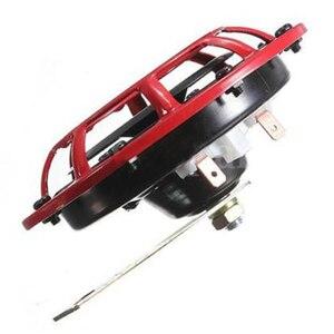 Image 2 - Klaxon de calandre Supertone double (paire) 12V 139dB pour Subaru Impreza WRX Evo neuf (rouge/noir)