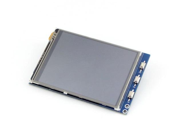 Raspberry Pi Tela Sensível Ao Toque de 3.2 polegadas TFT LCD com Controlador XPT2046 320*240 Pixel para Qualquer Revisão de Framboesa-pi