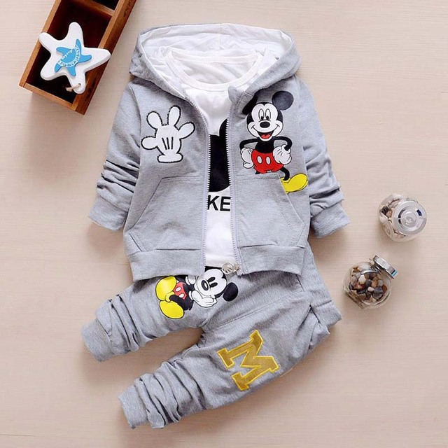 3pcs Baby Clothes Sets Baby...