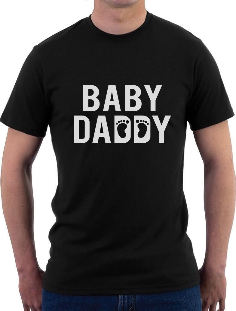2018 New Arrival MenS Fashion top tee Dad Fathers Day Gift For New Father T-Shirt Novelty