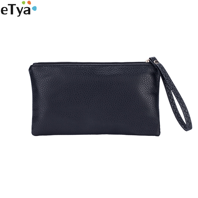 Coin Bag Zipper Women Men Wallet Pu Leather Mini Small Card Coin Money Key Phone Holder Purse Case Pouch Wristlet Handbag