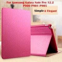 פרו קאקו מגנט כיסוי חכם עבור Samsung Galaxy הערה 12.2 P900 P901 P905 Flip case tablet כיסוי תיק מעטפת מגן