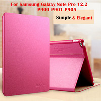 KAKU Magnet Smart Cover For Samsung Galaxy Note Pro 12 2 P900 P901 P905 Tablet Case