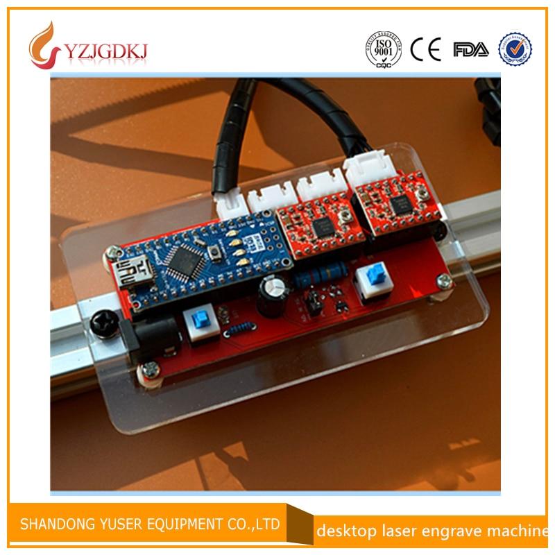 все цены на DIY laser machine laser engraving machine 2 axis stepper motor drive control circuit board free shipping онлайн