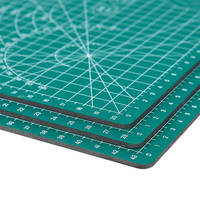 Deli A3 коврик для резки A2 ПВХ Многоцелевой бумагорез коврики для резки DIY инструмент разделочная доска двухсторонняя прочная бумага коврик