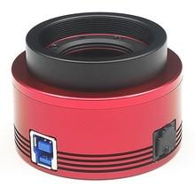 ZWO ASI183MC kolorowa kamera astronomiczna ASI planetarna słoneczna obrazowanie księżycowe/prowadzenie wysokiej prędkości USB3.0