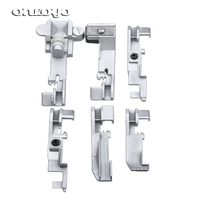 For JUKI Singer Brother Dragonfly Presser Feet Foot Multi Function Over  lock Machine Sewing Set