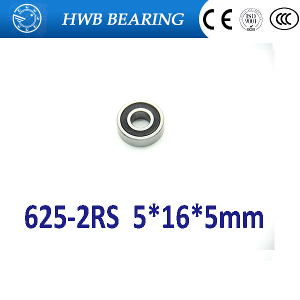 625RS 625 625-2RS deep groove ball bearing 5x16x5mm miniature bearing 5*16*5mm 625 2rs