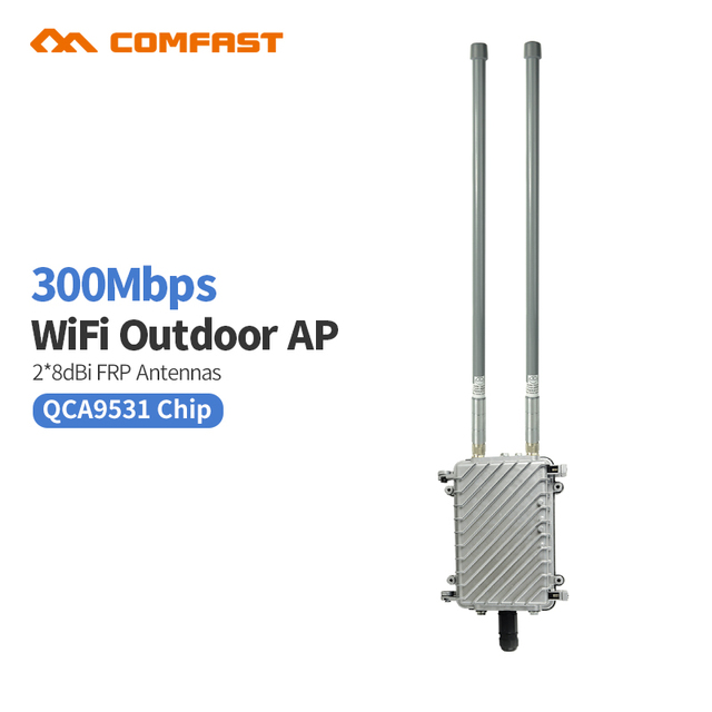 Long coverage Comfast WA700 Outdoor WiFi Antenna for school Projects AP omnidirectional base station power wireless AP Router ap