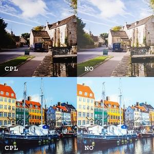 Image 5 - SHOOT 52mm/58mm CPL ND UV ensemble de filtres pour GoPro Hero 7 6 5 noir 4 3 + argent Action Camera boîtier étanche pour Go Pro accessoires