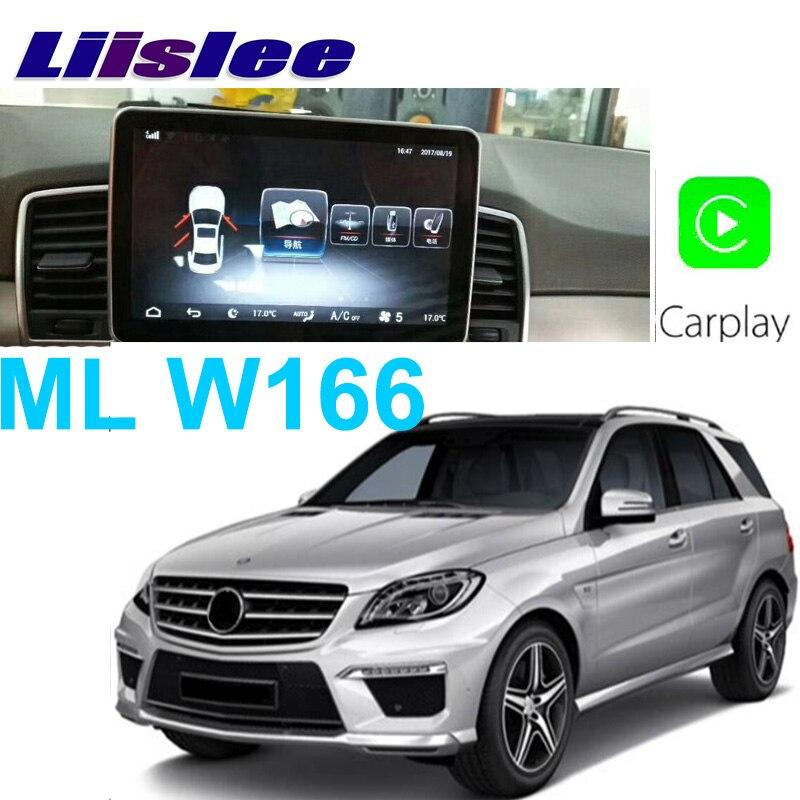 Liislee Car Multimedia Player NAVI For Mercedes Benz MB ML GLE M 400 Class W166 ML350 2011~2017 Car Radio Stereo GPS Navigation цена