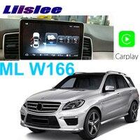 Liislee Car Multimedia Player NAVI For Mercedes Benz MB ML GLE M 400 Class W166 ML350 2011~2017 Car Radio Stereo GPS Navigation