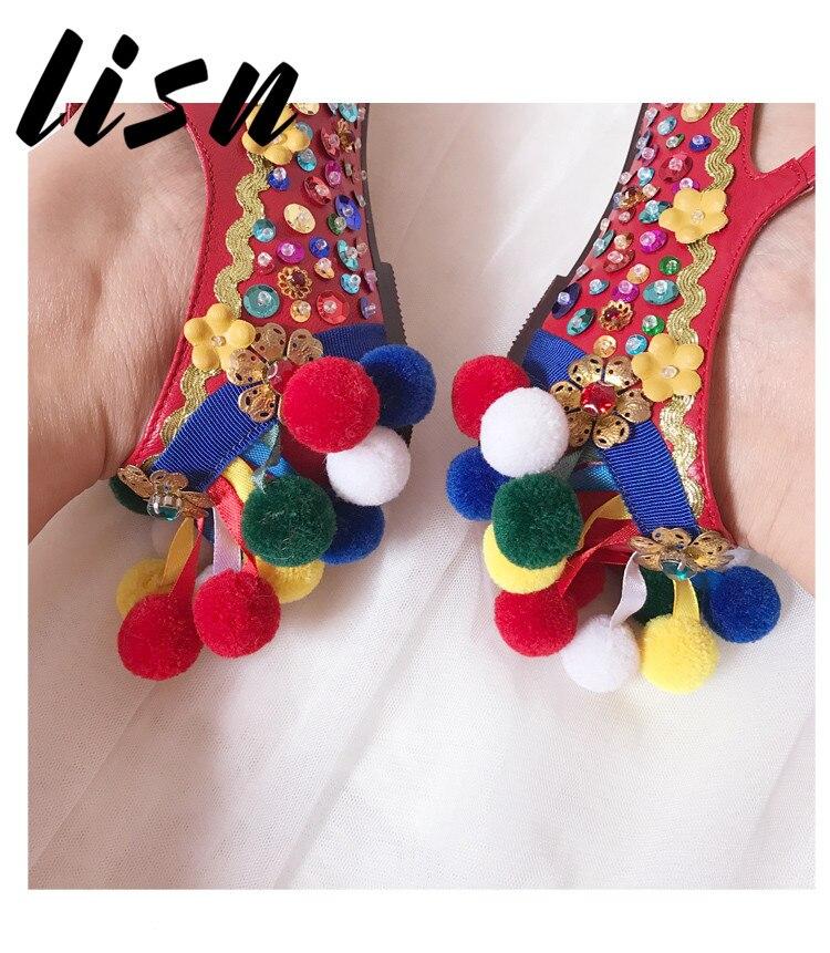 À Partie Faible Sangle Talon Glitter Bout En Mariage Pic Chaussures Pour Rond De Véritable Boucle Floral Femmes Nouveau Lisn Cuir As yv8n0ONwmP