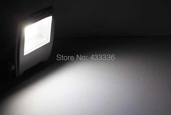 Fast free ship 10pcs/lot outdoor lighting grey 10W 20W 30W 50W 70W waterproof led reflector warm white day white cold white