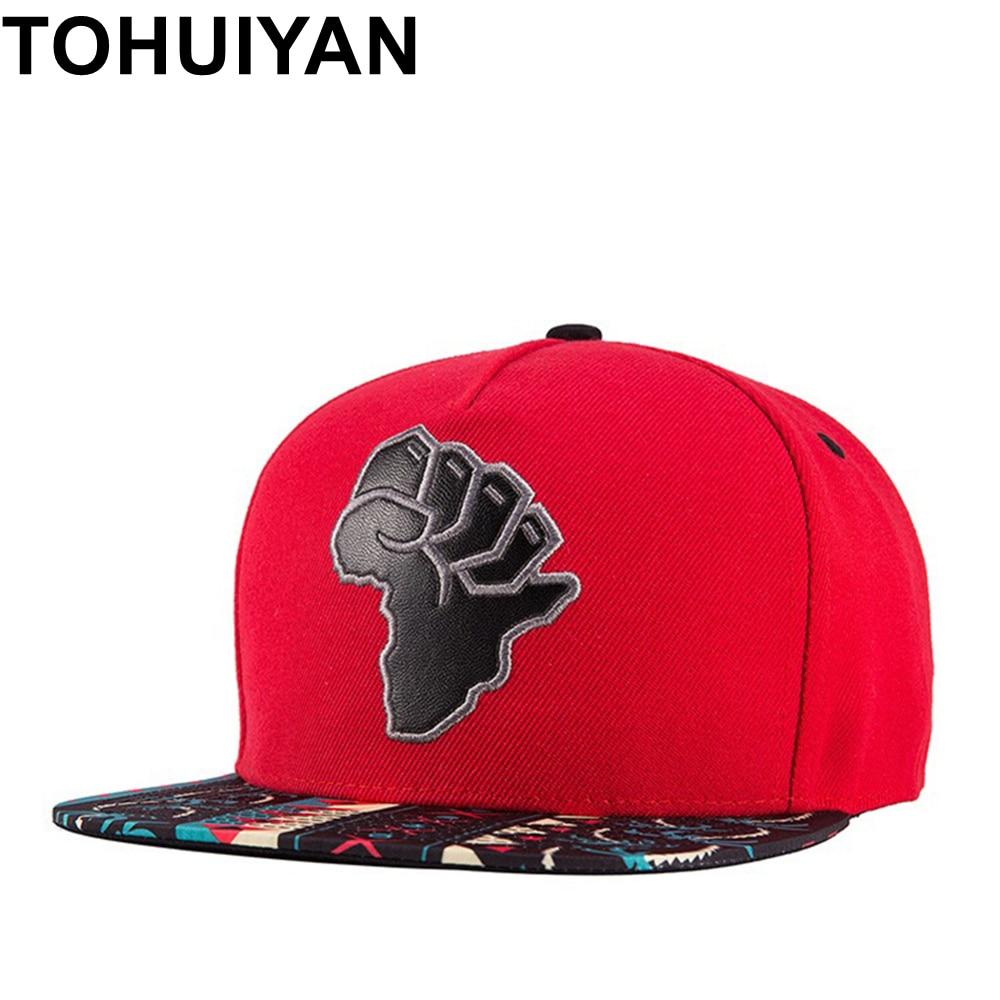 TOHUIYAN 2018 nueva moda gorra de béisbol Unisex 3D bordado del casquillo  del Snapback del de las mujeres de los hombres de Hip Hop sombrero marca  ajustable ... 04762186213