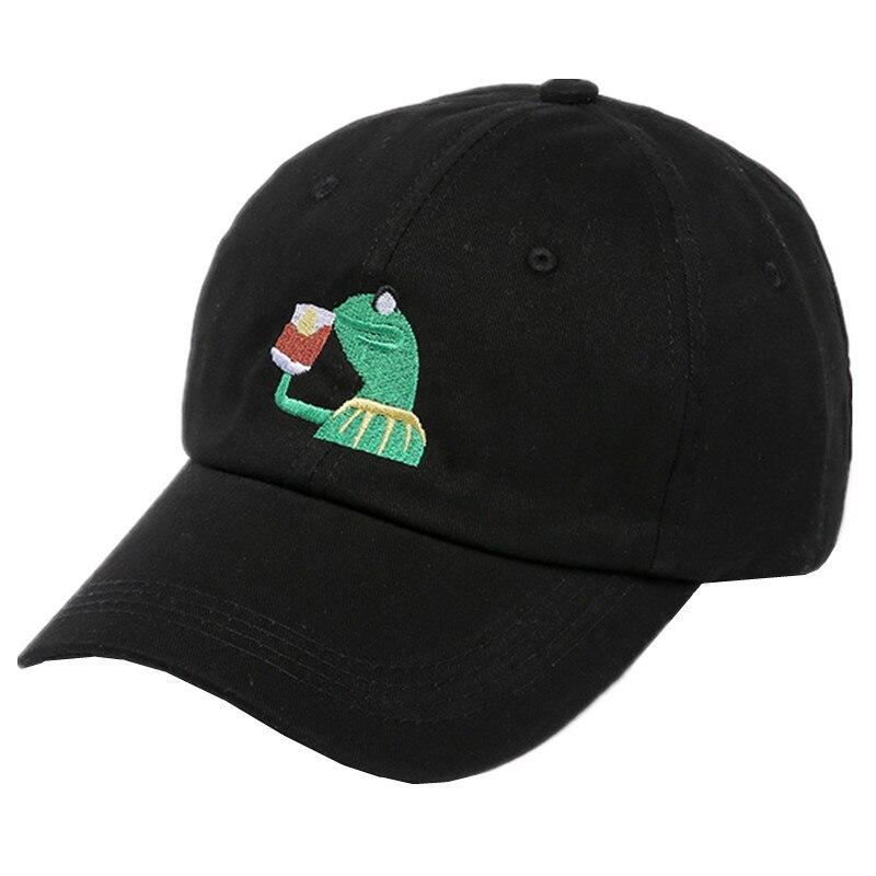 Newest Unstructuted Frog Baseball Cap Snapback Trucker Caps Lebron James  Hip Hop Hat Summer Casual Men Women Baseball Hats Black 6923074e073