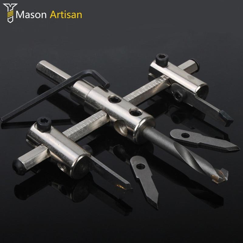 3bacb837e 30-300 ملليمتر طائرات نوع ثقب القاطع أداة holesaw مثقاب الأساسية للتعديل  لكيت اللاسلكي الروتاري أداة herramientas