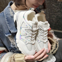 2019 Women Shoes Fashion Sneakers Designer Vulcanize Shoes Casual Women Flats Breathable Dad Shoes Trainers Female