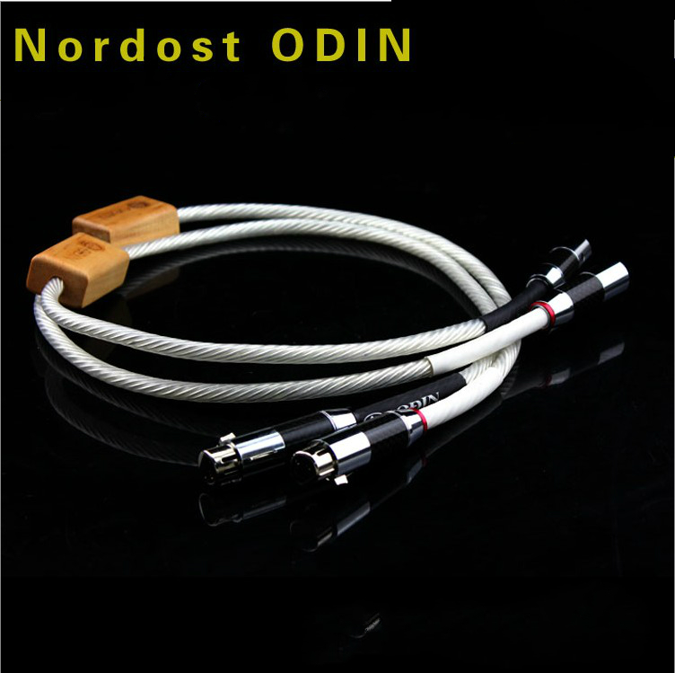 1M Nordost  Odin Supreme Reference XLR balance audio cable with Carbon fiber XLR plug cable цена и фото