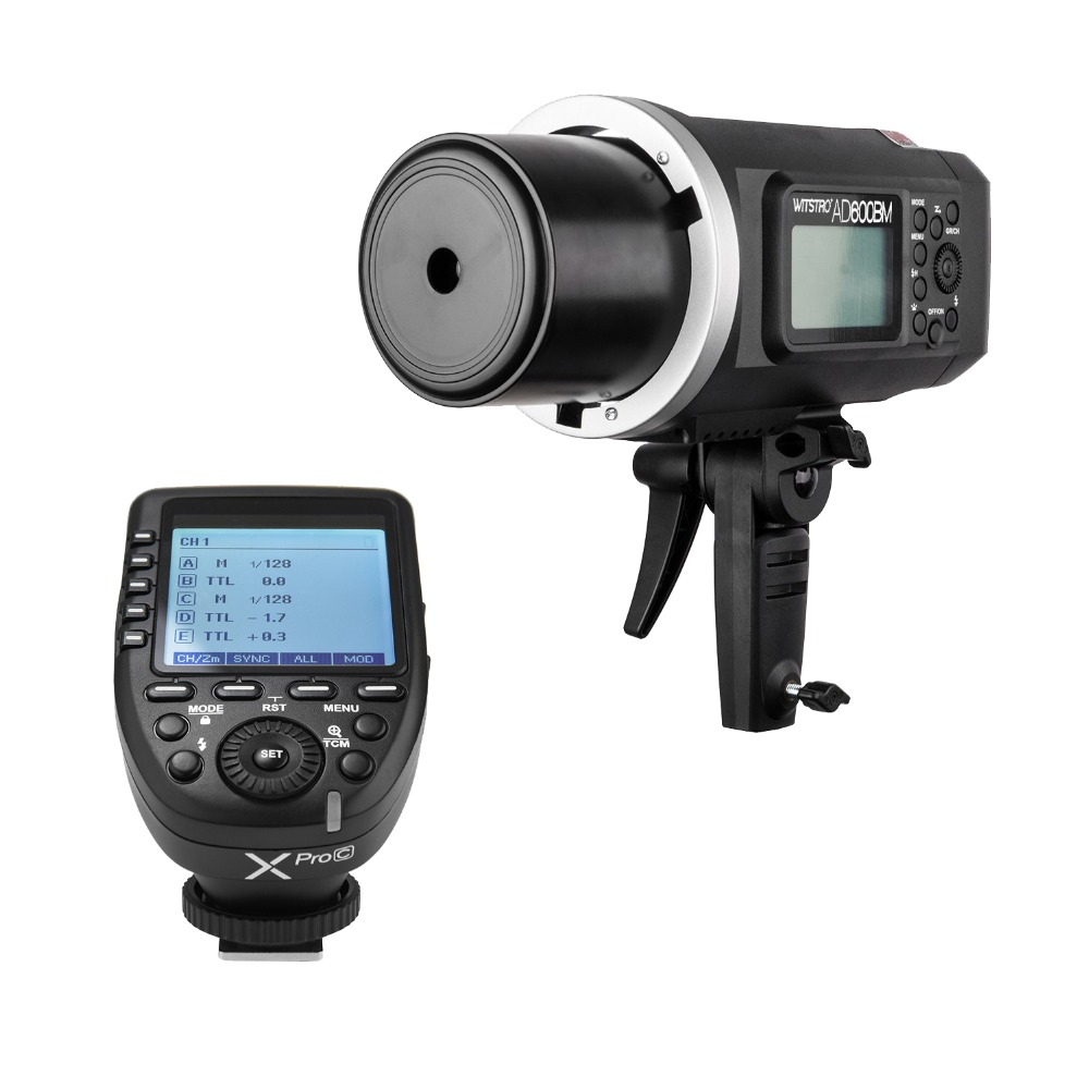 <font><b>Godox</b></font> Witstro <font><b>Ad600BM</b></font> With Xpro HSS 1/8000s 600W Bowens Mount Outdoor Flash Light for Canon Nikon Sony Fujifilm Camera image