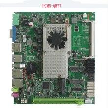 Placa base de gran oferta Intel core i7 3610QM CPU con 2 ranuras PCI, Mini placa base industrial ITX sin ventilador para terminal pos