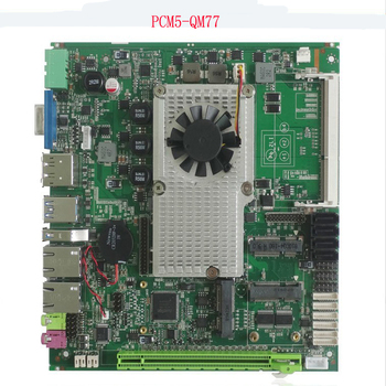 цена на hot sale Intel core I7-3610QM CPU with 2xPCI slot Fanless Mini ITX industrial Motherboard for pos terminal